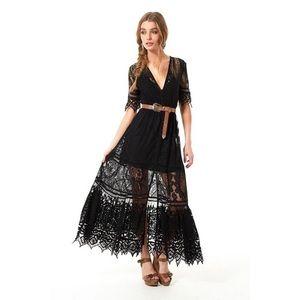 ❗️ISO❗️Spell Rhiannon Gown in Black